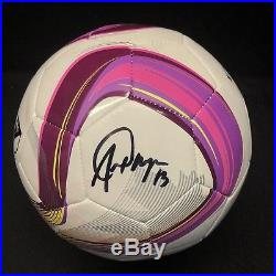 Alex Morgan Signed Adidas Soccer Ball Orlando Pride BAS Beckett E07020