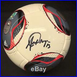 Alex Morgan Signed Adidas Soccer Ball Orlando Pride BAS Beckett E07021