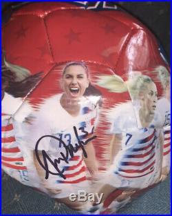 Alex Morgan Signed Full Size USA Rare Soccer Ball With JSA