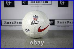 Alex Morgan Signed Team USA Logo Nike Soccer Ball (JSA COA)