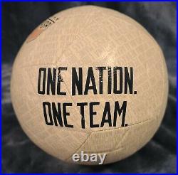 Alex Morgan Signed Team USA Nike One Nation Soccer Ball JSA