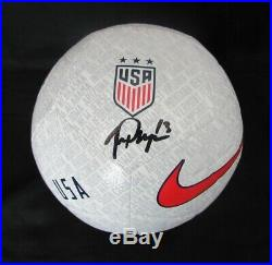 Alex Morgan Signed USA Women's World Cup White Nike Soccer Ball JSA 145714