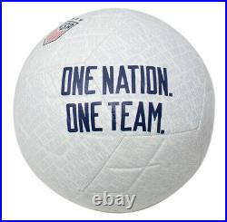 Alex Morgan Team USA Signed USA Nike One Nation Soccer Ball JSA