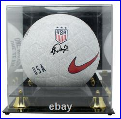 Alex Morgan Team USA Signed USA Nike One Nation Soccer Ball JSA with Acrylic Case