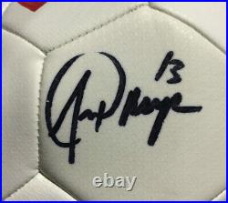 Alex Morgan signed Nike USA Soccer Ball 2019 World Cup mint autograph JSA COA