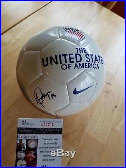 Alex Morgan signed autographed Nike USA Soccer Ball JSA V31216