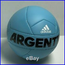 Angel Di María Signed Argentina Adidas Soccer Ball BAS Beckett B55752