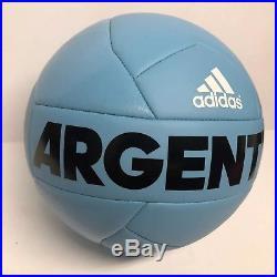 Ángel Di María Signed Argentina Adidas Soccer Ball BAS Beckett B55753