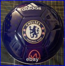 Ashley Cole England/Chelsea Legend Signed Chelsea Adidas Soccer Ball. JSA