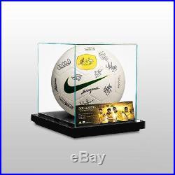 Australia 2014 Fifa World Cup Socceroos Squad Signed Ball Presentation Box