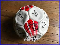Authentic 2003 Team Signed IU Indiana Hoosiers Soccer Ball Autograohed Auto VTG