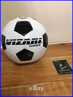 Authentic Rod Stewart Signed Soccer Ball Mardi Gras 2018 with backstage pass