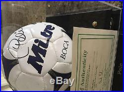 Authentic Signed Pele Soccer Ball