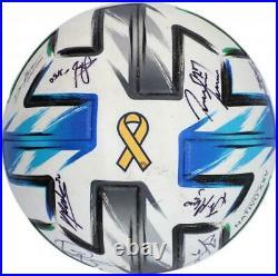 Autographed D. C. United Ball Fanatics Authentic COA Item#11204854