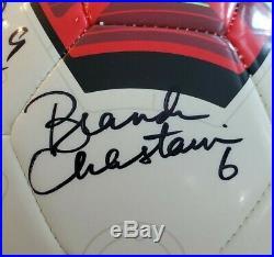 Autographed Nike Soccer Ball Mia Hamm Brandi Chastain Abby Wambach RARE