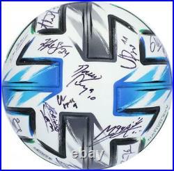 Autographed Orlando City SC Ball Fanatics Authentic COA Item#11213175