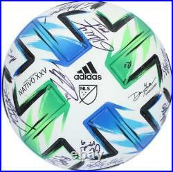 Autographed Orlando City SC Ball Fanatics Authentic COA Item#11213176