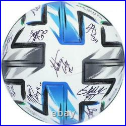 Autographed Orlando City SC Ball Fanatics Authentic COA Item#11213178