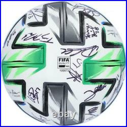 Autographed Sounders Ball Fanatics Authentic COA Item#11213214