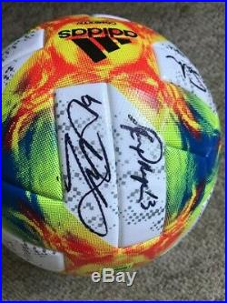 Autographed Team USA 2019 Women's World Cup Soccer Ball