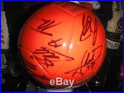 BAYERN MUNCHEN 15-16 SIGNED x23 SOCCER BALL FUSSBALL Lewandoski-Ribery-Guardiola