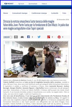 Ball Match Worn Juventus Signed Dybala Higuain Buffon Mandzukic 2017 18 Coa