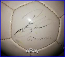 Ball Official Nike NK 250 GEO 1997-98 / Nike Match ball NK 250 ITA GEO Signed