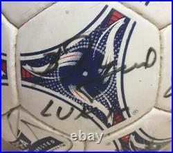 Ballon Adidas Tricolore Signé FC METZ 1997/1998 France Football Ball Soccer