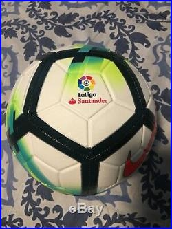 Barcelona LUIS SUAREZ SIGNED LA LIGA NIKE SOCCER BALL BECKETT BAS WITNESS