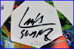 Barcelona Luis Suarez Authentic Signed Adidas Soccer Ball Fanatics Holo #A310315