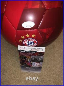 Bastian Schweinsteiger SIGNED FC BAYERN MUNICH SOCCER BALL AUTO JSA RARE