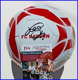 Bastian Schweinsteiger Signed Bayern Munich Soccer Ball withJSA COA DD22662