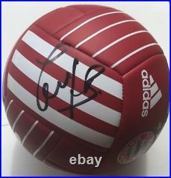 Bastian Schweinsteiger Signed Fc Bayern Munchen Soccer Ball Munich Germany Jsa