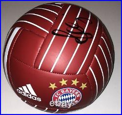 Bastian Schweinsteiger Signed Fc Bayern Munich Soccer Ball Germany Auto+jsa Coa