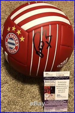 Bastian Schweinsteiger Signed Fc Bayern Munich Soccer Ball Germany Jsa Coa