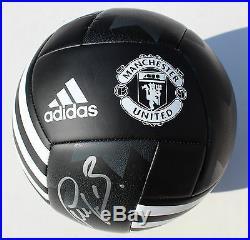 Bastian Schweinsteiger Signed Manchester United Soccer Ball withJSA COA DD22655
