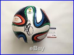 Bastian Schweinsteiger Signed Soccer Ball PSA DNA COA Autographed PROOF a