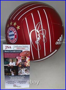 Bastian Schweinsteiger signed FC Bayern Munich Size 5 Soccer Ball Munchen JSA