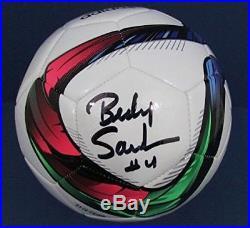 Becky Sauerbrunn USA Soccer 2015 World Cup Signed Adidas Soccer Ball JSA W723763