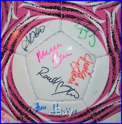 BenchWarmer 2014 Master Case Dealer Bonus Autographed Soccer Ball 58 Autos #d/99