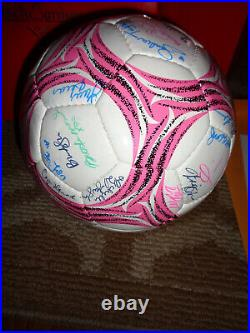 Benchwarmer Signed Soccer Ball 57 Model Autograph #d 74/99 Sandra Taylor 2014