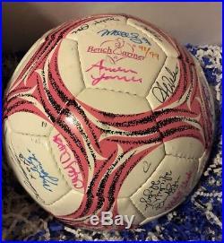 Benchwarmer Soccer Master Case Bonus 57 Model Signed Auto Soccer Ball 91/99