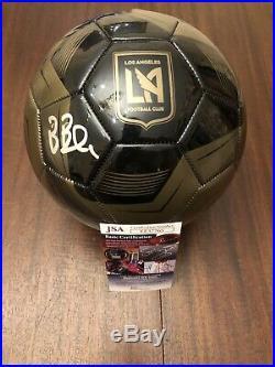 Bob Bradley Signed Lafc Soccer Ball Auto Jsa Rare Usmnt Head Coach