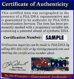 Brazil Pele Signed Baseball Autographed PSA DNA COA