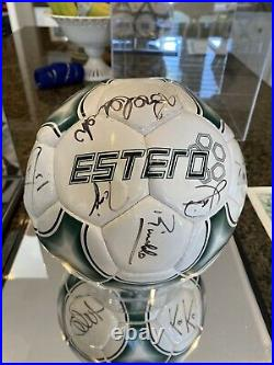 Brazil Signed Ball