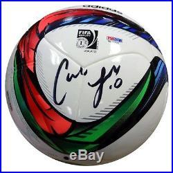 CARLI LLOYD AUTOGRAPHED SIGNED ADIDAS SOCCER BALL PSA/DNA ITP STOCK #92998