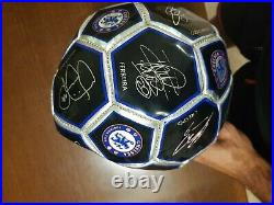 CHELSEA Football Soccer Signed Ball very old with murinho terry and more
