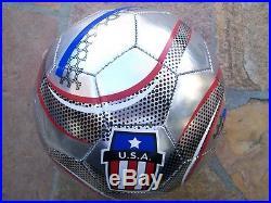 Clint Dempseysignedautographedusasoccerball2014 Worldcupsoundersproof
