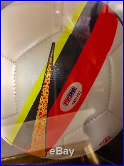 Cristiano Ronaldo Signed Nike Soccer Ball Xmas Gift Real Madrid Portgual