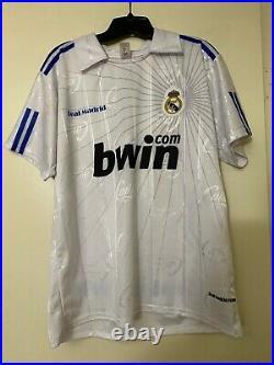 CRISTIANO RONALDO Signed Autograph REAL MADRID Soccer Ball Jersey PSA #AJ23855
